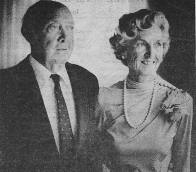 Chet and Ida Crosby, founders of Chester A. Crosby & Sons, Inc., on the day of their 50th wedding anniversary