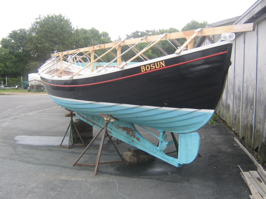 Boat Painting and Varnishing services by EM Crosby Boatworks , Barnstable MA